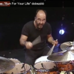 "Peter Erskine: ""Run For Your Life"" dobszóló"
