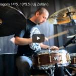"Ujj Zoltán: ""Drum'n'bass groove"" dobkotta"