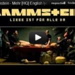 """Rammstein: """"Mehr"""" dobkotta"""